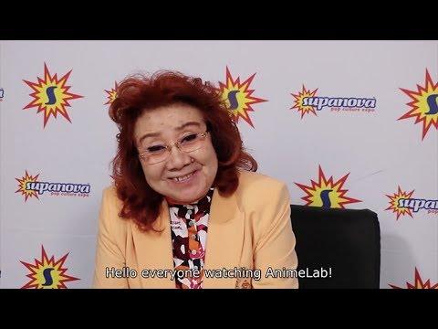 Interview with Masako Nozawa (Goku from Dragon Ball) at Supanova Melbourne 2017