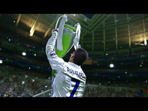 PES 2017 - UEFA Champions League Final - REAL MADRID vs BARCELONA (Cristiano Ronaldo, Messi, Neymar)