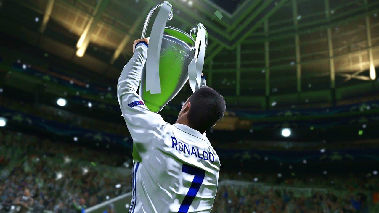 PES 2017 - UEFA Champions League Final - REAL MADRID vs