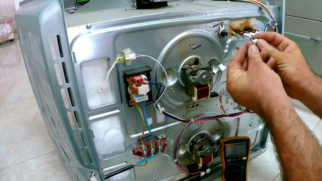 How to test and replace a thermal fuse on Samsung Oven