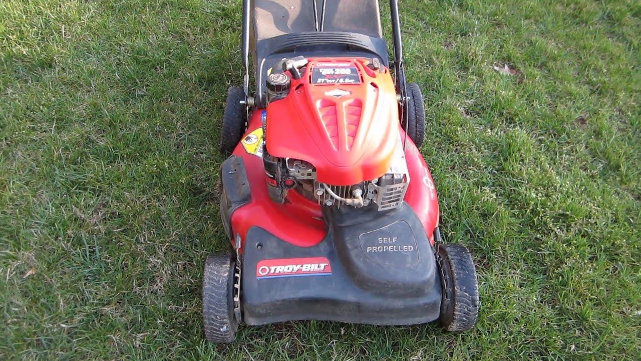 Troy Bilt Broken Craigslist Find Lawn Mower Repair Part