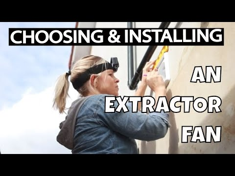 Extractor fan installation UK - choosing and installing an extractor fan #AD