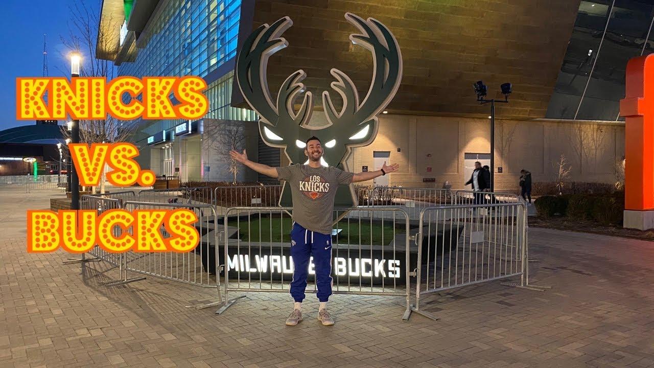 Travel Vlog | Knicks v. Bucks | Day-trip to Milwaukee