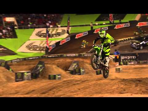 Monster Energy Cup 2014 - Podium Interview with Davi Millsaps