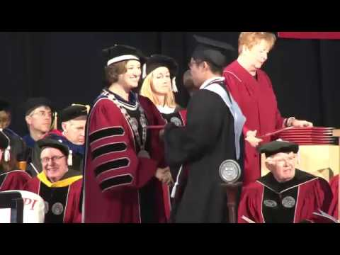 2016 Conferring of Degrees - Bachelor
