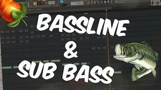 FL Studio Beginners Tutorial 4   Bassline & Sub bass