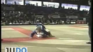 JUDO 1997 European Team Championships: Laetitia Tignola (FRA) - Inge Clement (BEL)