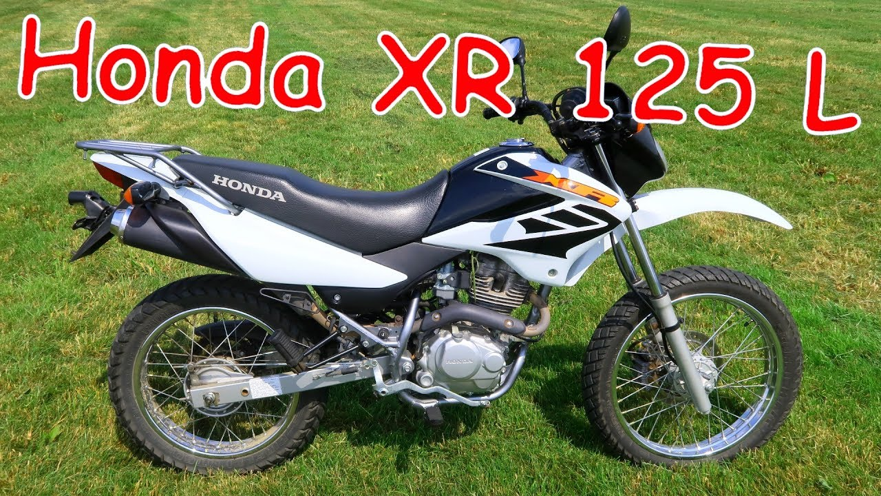 neues motorrad honda xr 125 l youtube. Black Bedroom Furniture Sets. Home Design Ideas