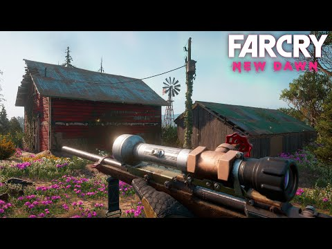 Far Cry New Dawn - IS THIS STILL THE BEST HUNTING RIFLE? (Free Roam Adventures) thumbnail