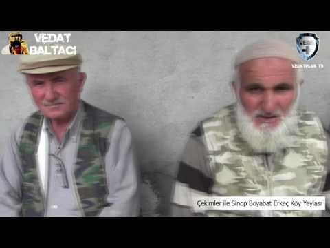 Çekimler ile Sinop Boyabat Erkeç Köy Yaylası