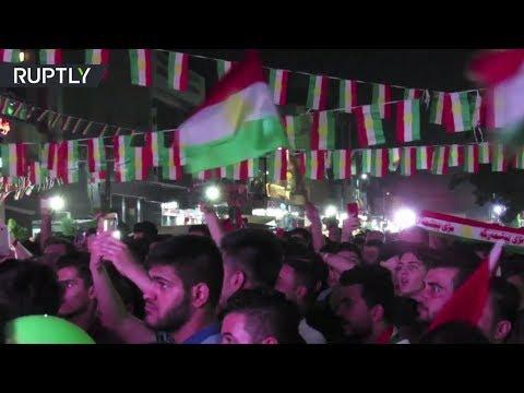 Historic Vote: Iraqi Kurds celebrate independence referendum in Erbil