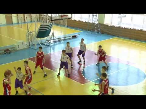 Баскетбол игра 09 февраля 2014г ДЮСШ №7(2001г) - БК Университет (2000г)