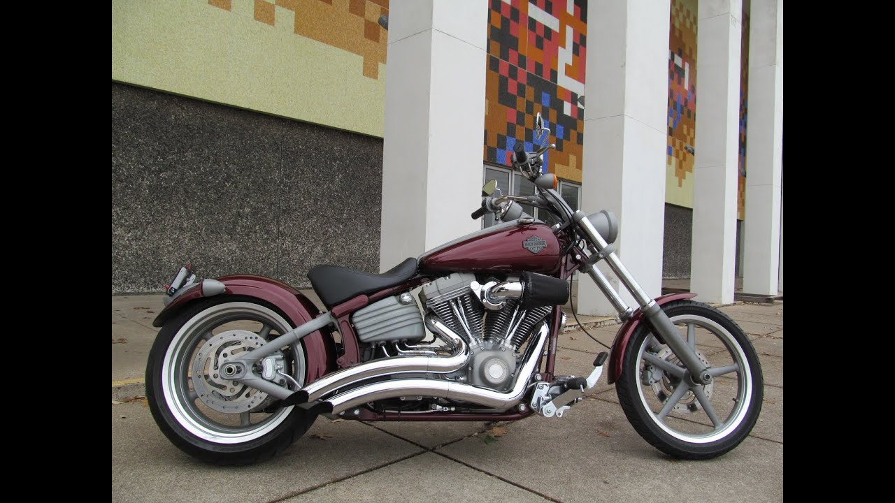 Harley Davidson Motorcycles For Sale >> 2008 Harley-Davidson Rocker FXCW - YouTube