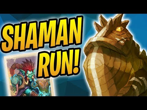 Tribute from the Tides - Shaman Rumble Run | Rastakhan's Rumble Adventure | Hearthstone