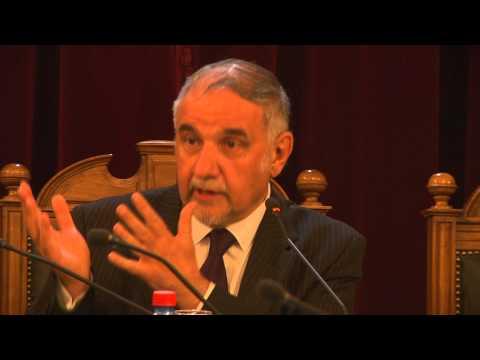 Exposición Del Candidato Presidencial Ricardo Israel Ante El Pleno De La Corte Suprema