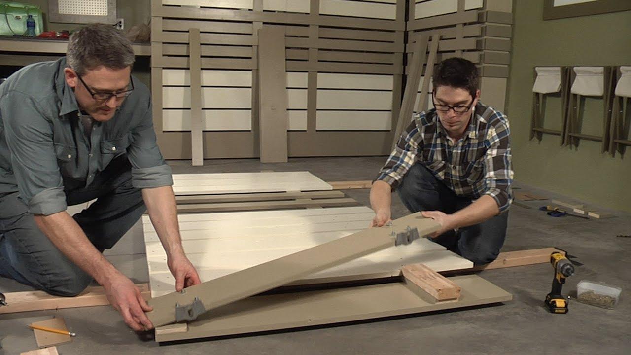 How To Make Sliding Doors Youtube