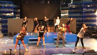 Showtime Dancers with Girltrend Krissha
