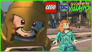 LEGO DC Super Villains - DLC AQUAMAN Movie Character Pack 1 Gameplay