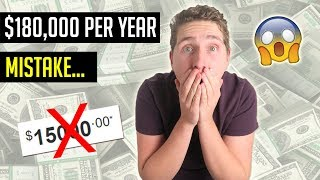 This ONE MISTAKE Almost Cost Me $15,000 Per Month... (How You Can Avoid It)