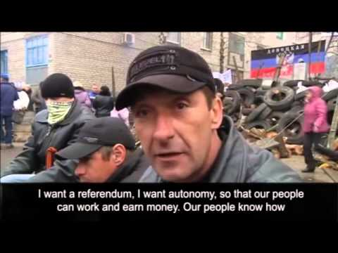 Pro Russian protesters stay put in Ukraine as deadline passes
