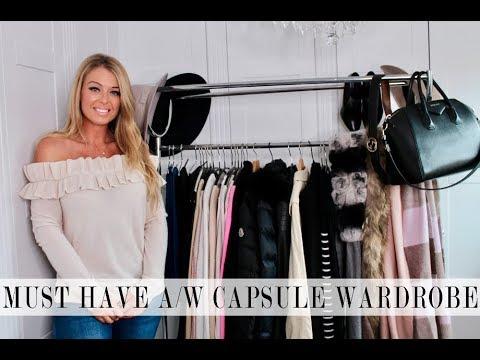 3e36e0cc4b55e Must Have Autumn Winter Basic Capsule Wardrobe | Cleo Lacey - YouTube
