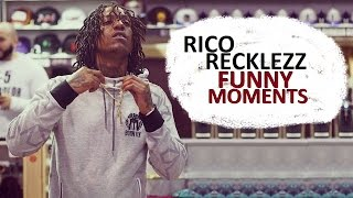 Rico Recklezz FUNNY MOMENTS (BEST COMPILATION)