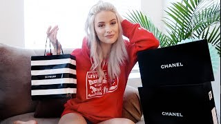 CHICAGO HAUL ft CHANEL, DIOR, SEPHORA AND LEVIS!