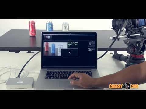Use Laptop as Video Camera Monitor - BlackMagic Intensity Extreme Thunderbolt Video Capture