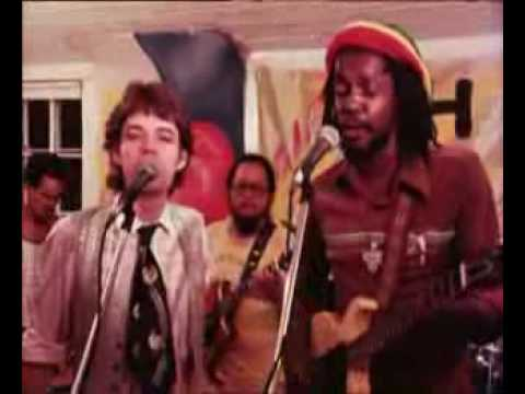 Mick Jagger (so high!) & Peter Tosh - Don't look back