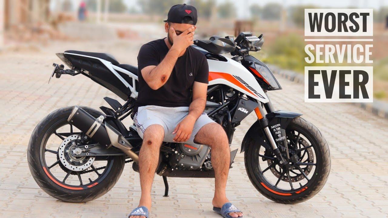 KTM Lekar Galti krdi bhut bdi.... 🤦🏻♂️