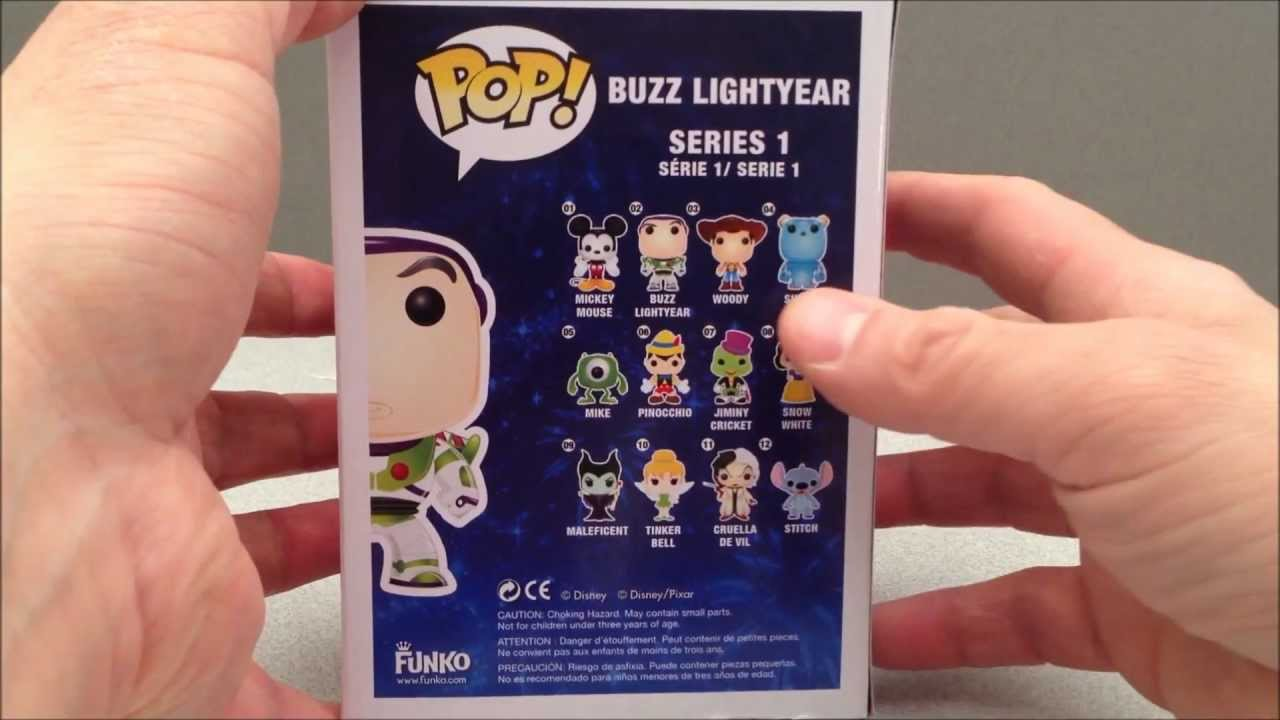 Buzz Lightyear Toy Story 3 Disney Funko Pop Bobblehead Toy Review