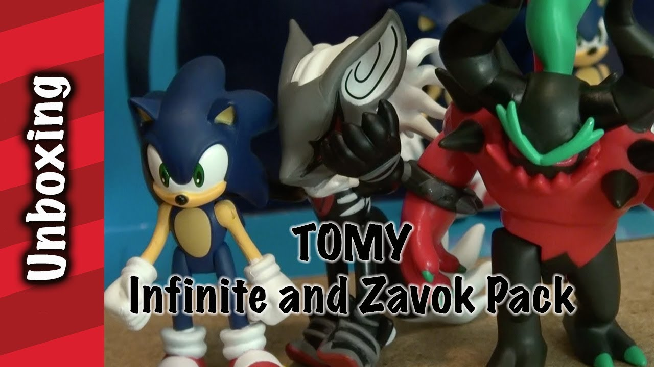 Tomy Sonic Infinite And Zavok Unboxing Youtube