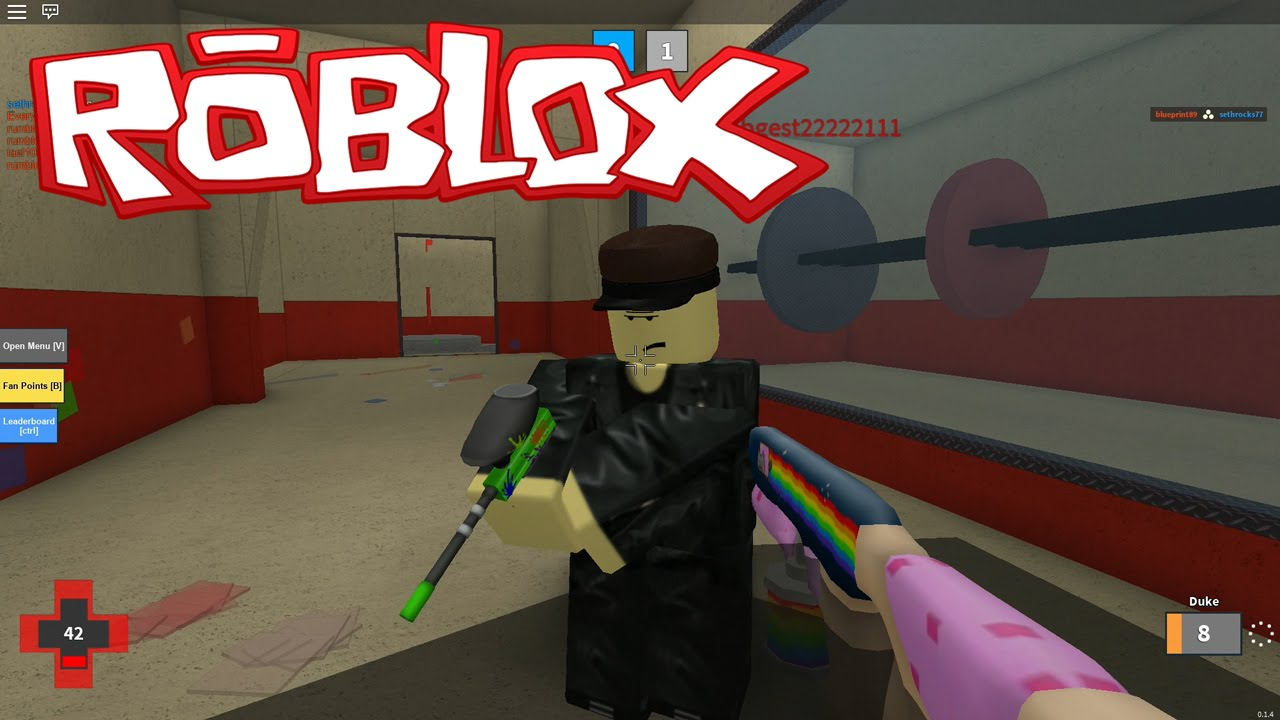 Mad Paintball Roblox Youtube