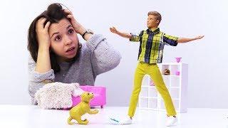 Кевин хочет жениться на Барби - Видео для девочек