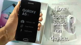 Samsung Galaxy A5 2016 Unboxing