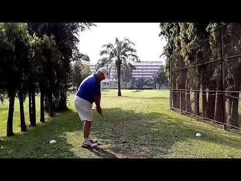9th Hole Tee Shot Asia Pattaya Golf Course Thailand