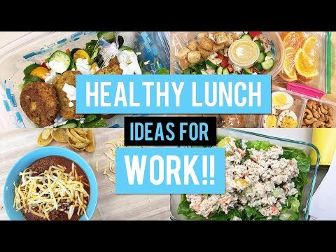 Healthy Lunch Ideas for Work | Office Lunches