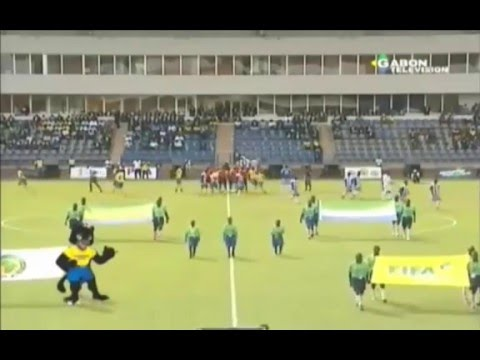 Gabon vs Sierra Leone - Group I 2017 Africa Cup of Nations (25/03/2016)