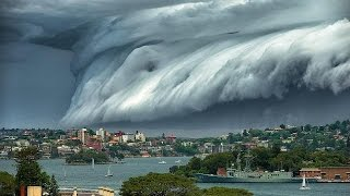 ตะลึง!เมฆประหลาดมหึมาปกคลุมซิดนีย์