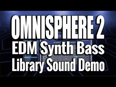 Omnisphere 2 - EDM Synth Bass - Sound Demo 03