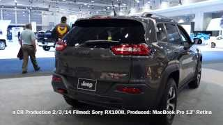 2014 Jeep Cherokee: First Look at the 2014 Washington Auto Show