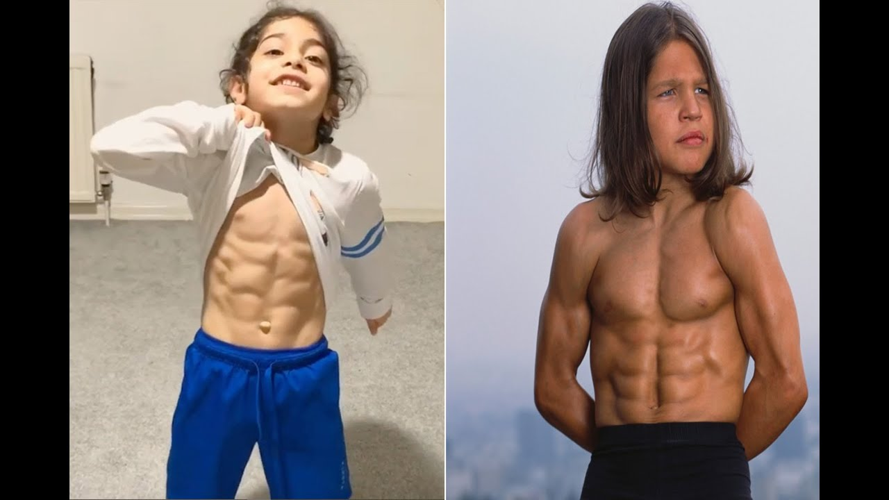 5 Strongest Kids In The World - YouTube