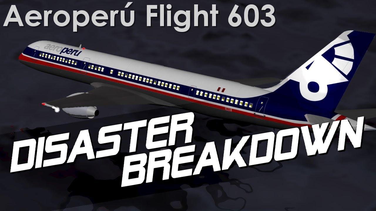 Inverted Plane Crash into the Pacific Ocean (Aeroperu Flight 603) - DISASTER BREAKDOWN
