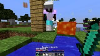 LA DEL BLOQUE SIN QUERER - Sky Wars Minecraft