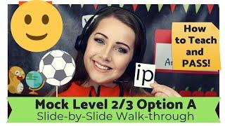 NEW! VIPKID Lower Level 2/3 (A) Certification Mock Class Walk-through