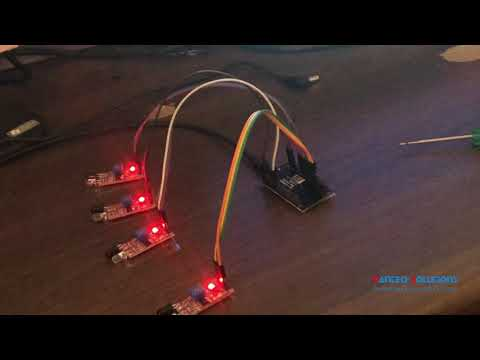 SMART PARKING SYSTEM using Node MCU