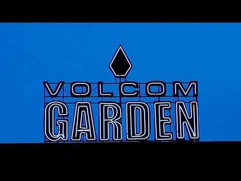 Welcome To The Volcom Garden in Austin, Texas