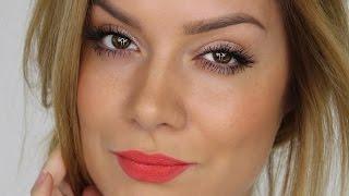 Simple Eyes Bold Lip | Spring MakeUp Tutorial | Shonagh Scott | ShowMe MakeUp