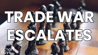 Markets DUMP, Trade War Escalates Technical Analysis Chart 8/24/2019 by ChartGuys.com