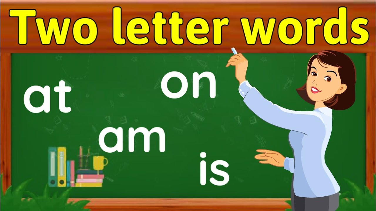 Two letter words | two letter sight words | Sight words for kids | two letter words reading for kids